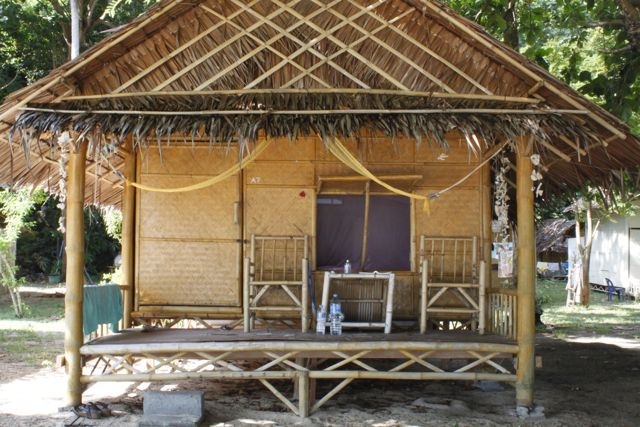bamboo bungalows, the simple life
